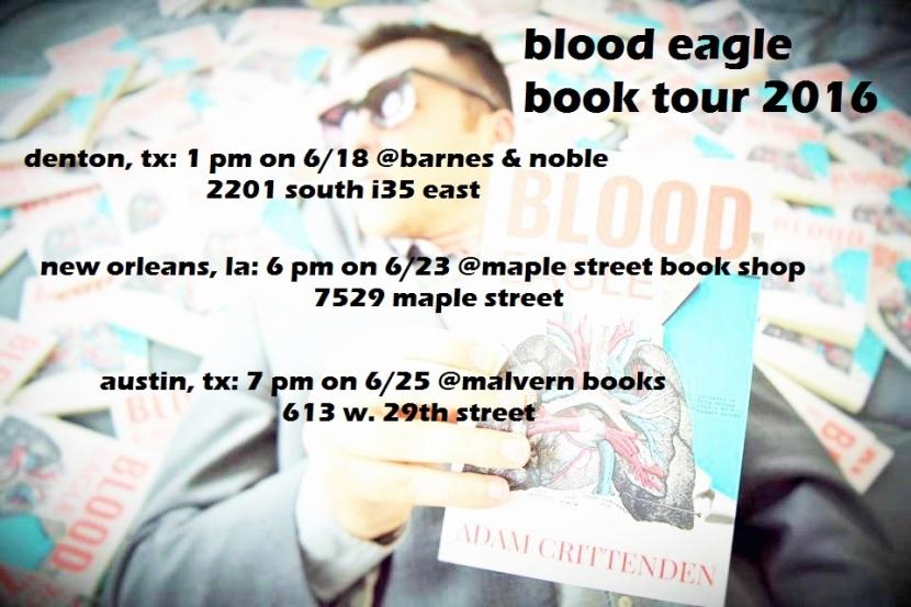 2016 book tour